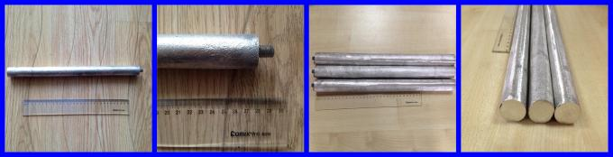 Cast Magnesium Anode Rod Bars