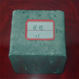 China MgSr Magnesium Strontium Alloy Magnesium Rare Earth Alloy , MgSr10 master alloy distributor