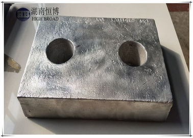 China Condenser anodes, hull anodes for anti corrosion and cathodic protection distributor