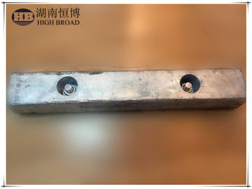 China Aluminum Ballast Tank Anodes with low-iron, high-purity aluminum alloys distributor