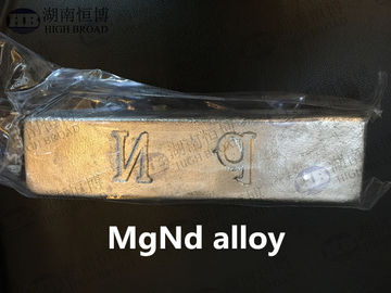 China Magnesium Neodymium MgNd30 alloy improve elongation strength ,proof strength distributor